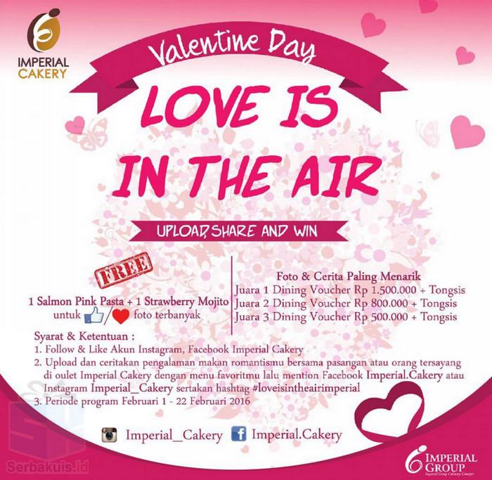 Kontes Foto Love Is In The Air Berhadiah Voucher Dining 2,8 Juta + Tongsis