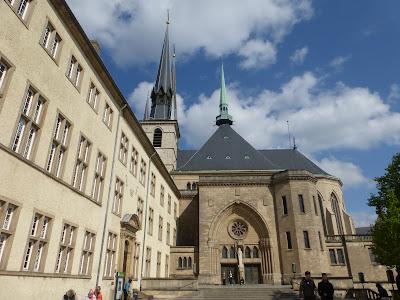 Resultado de imagen de catedral notre-dame, haute, luxemburgo