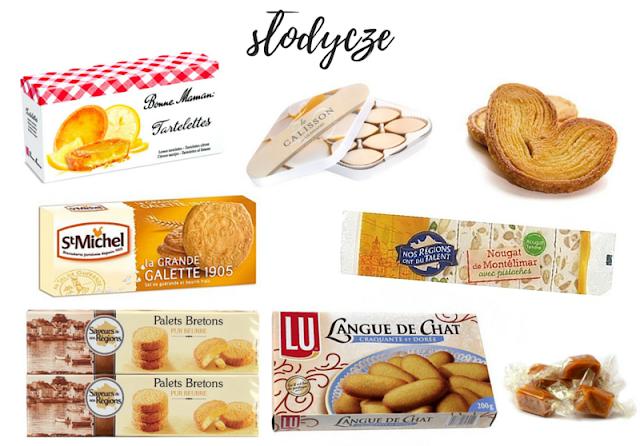 francuskie ciastka i słodycze