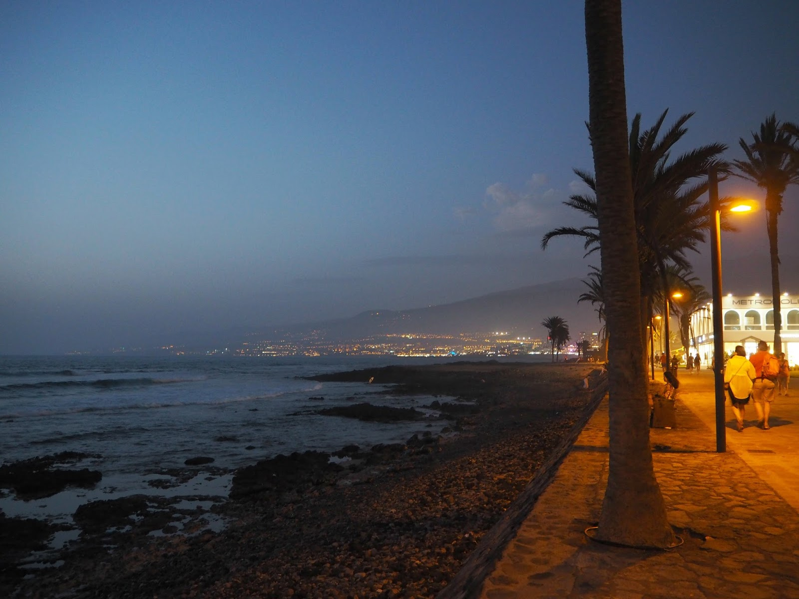 summer evening in tenerife