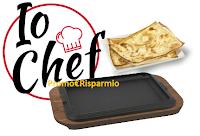 Logo Concorso ''Io Chef'': vinci voucher viaggio da 1.000€ e 9 padelle Ilsa in ghisa ogni mese!