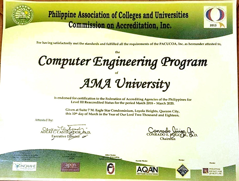 Ama University Receives Level Iii Pacucoa Accreditation For Bs