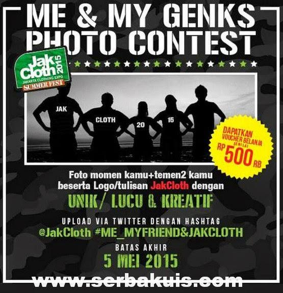 Me & My Genks Photo Contest