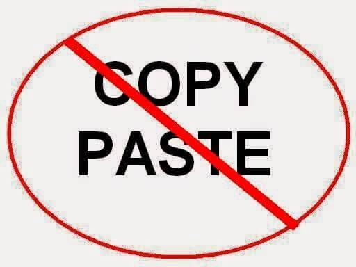 Code chống copy trên blogspot