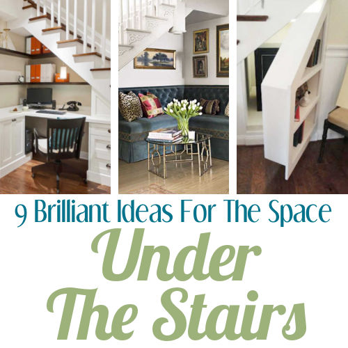 12 Storage Ideas For Under Stairs: DIY Home Sweet Home: 9 Brilliant Ideas For The Space Under