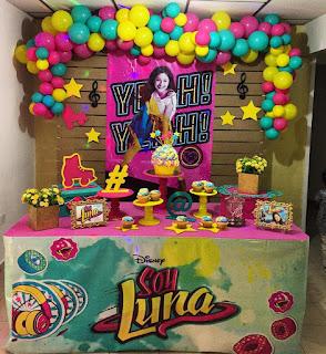 Decoración de Fiestas con Soy Luna