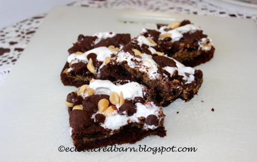 Chocolate Mallow Bars @Eclectic Red Barn
