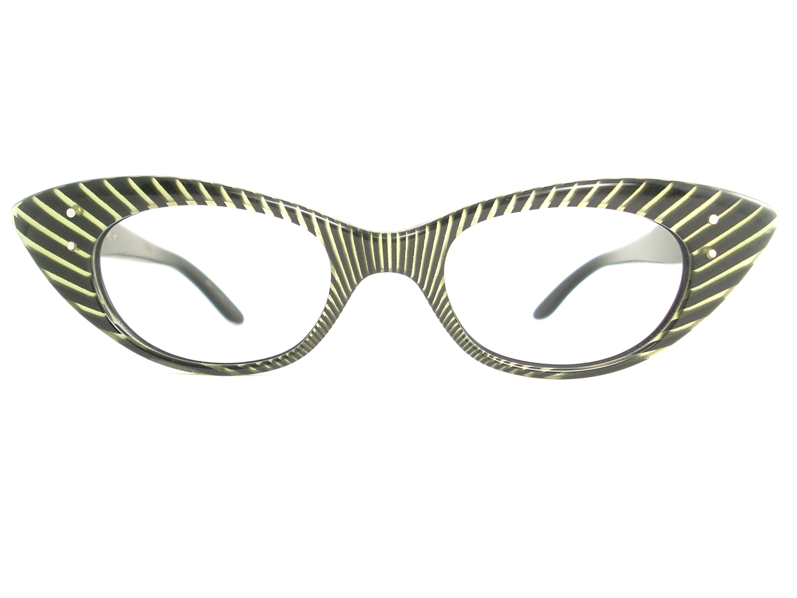 e6f19199bf7 VINTAGE CAT EYE GLASSES FRAME SUNGLASSES. BASE COLOR IS BLACK THEN SHINY  GOLD AND CRYSTAL GIVING A 3D AFFECT. THE ARMS ARE BLACK AND SILVER ALSO  HAVE ...