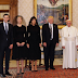 Photo of Ivanka and Melania Trump meeting Pope Francis with their heads covered sparks comparison with their Saudi Arabia visit