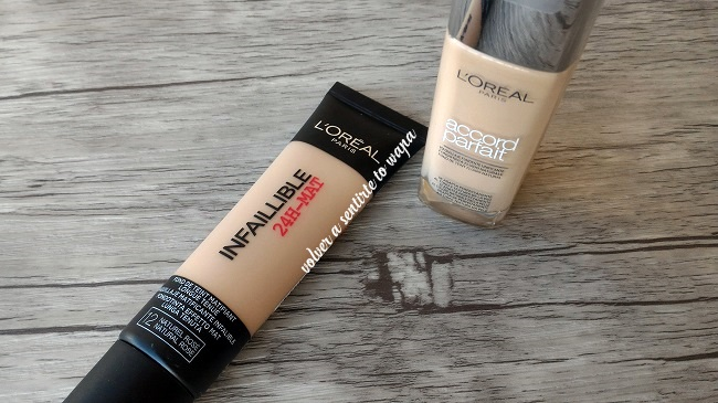 Base de Maquillaje de L'oreal - Accord Parfait e Infalible Matt
