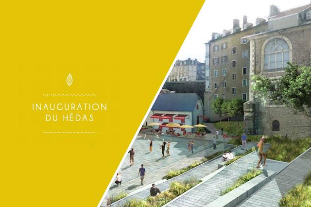 Pau : Inauguration du Quartier et de la Promenade du Hédas