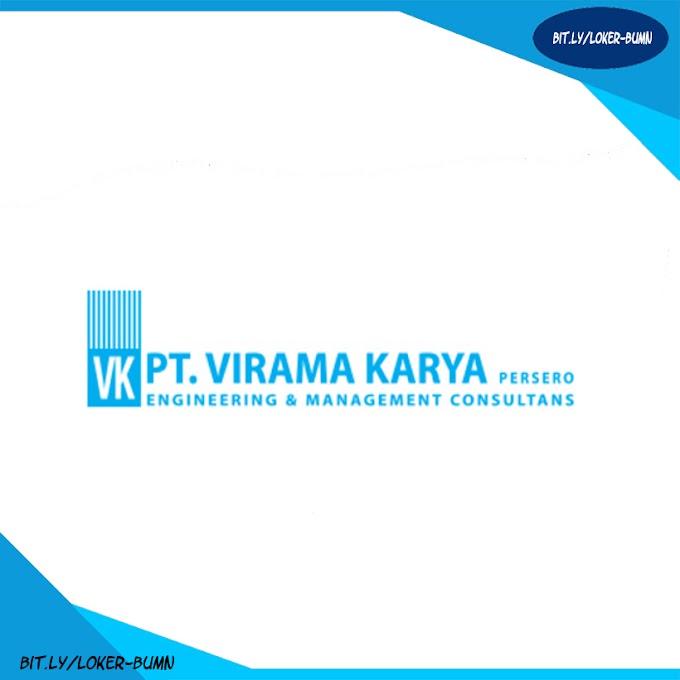 Rekrutmen Lowongan Kerja PT Virama Karya (Persero)