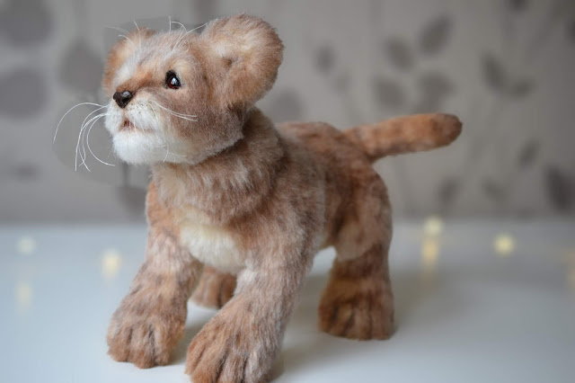 Lion Cub African Wildlife Plush Animals