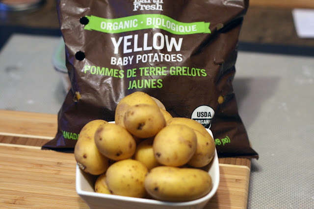 EarthFresh Foods organic yellow potatoes