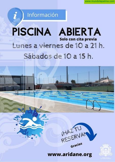 La piscina municipal de Los Llanos de Aridane abrirá mañana sus puertas solo para nado libre y con cita previa