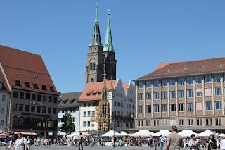 Europe Travel in Nuremberg, Germany