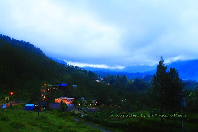View arah Guci pagi hari