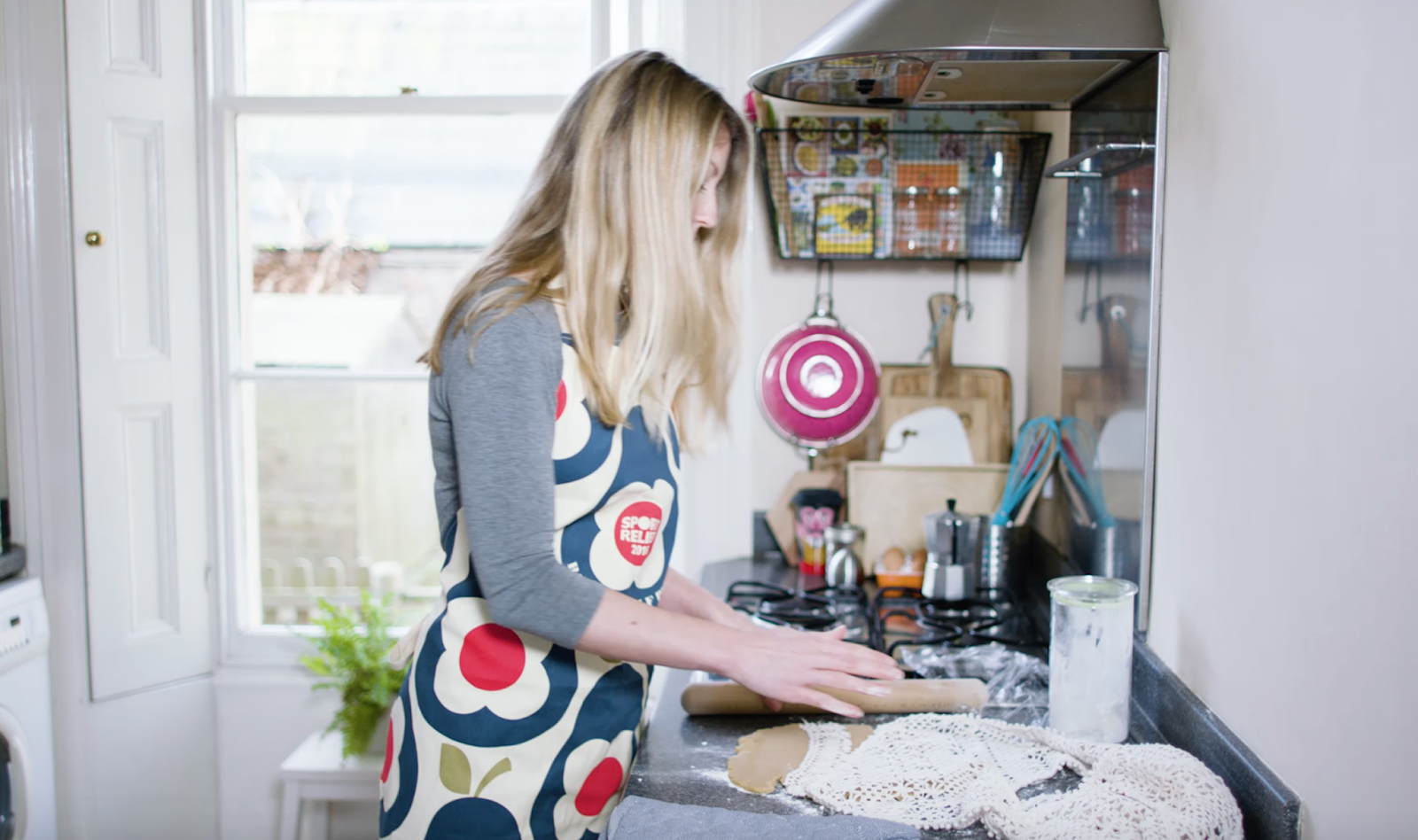 Baking with orla keily Sport Relief