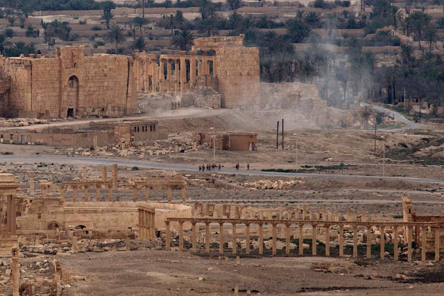 Russian video raises alarm: New ISIS damage in Syria's Palmyra