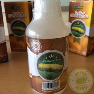 Obat Jerawat Herbal QnC Jelly Gamat