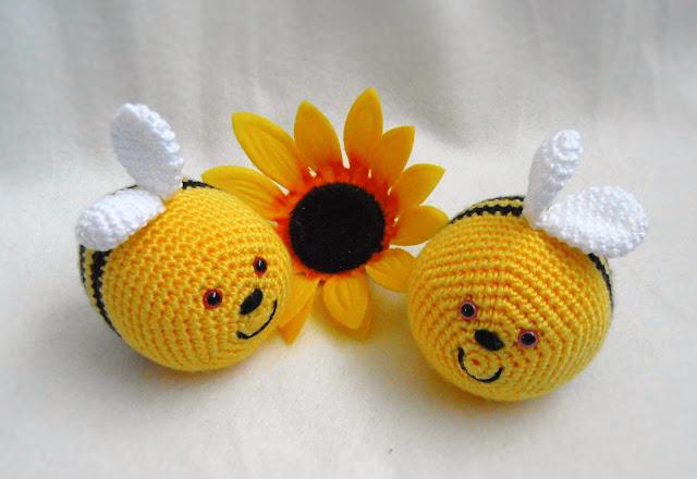 #amigurumi#crochet#stressball#bee#soft toy#heegeldatud#stressipall#mesilane#pehme mänguasi