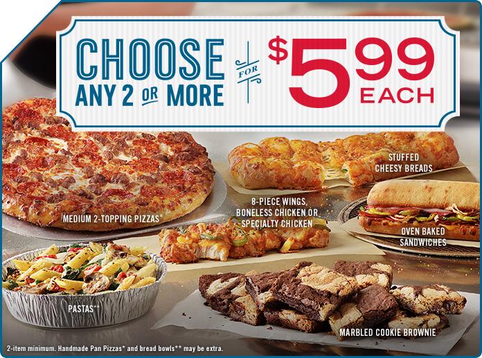 Pizza man dan coupons