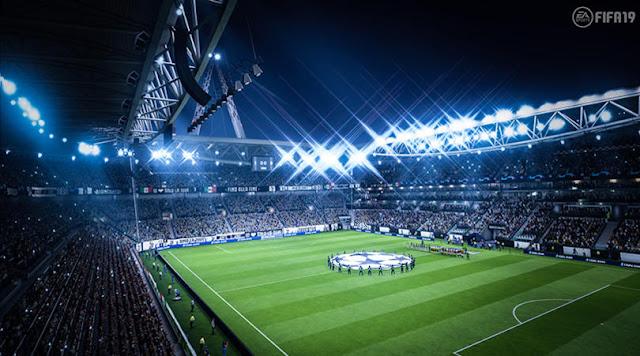شاهد مباراة كاملة من داخل لعبة FIFA 19 و طور دوري ابطال اوروبا …