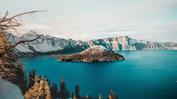 Lake, Mountain, Nature, Landscape, Scenery, Nature, 4K, #173