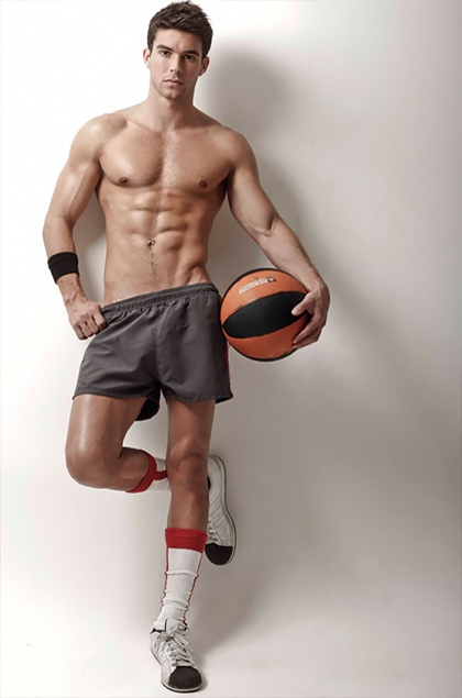 naked male basketball players