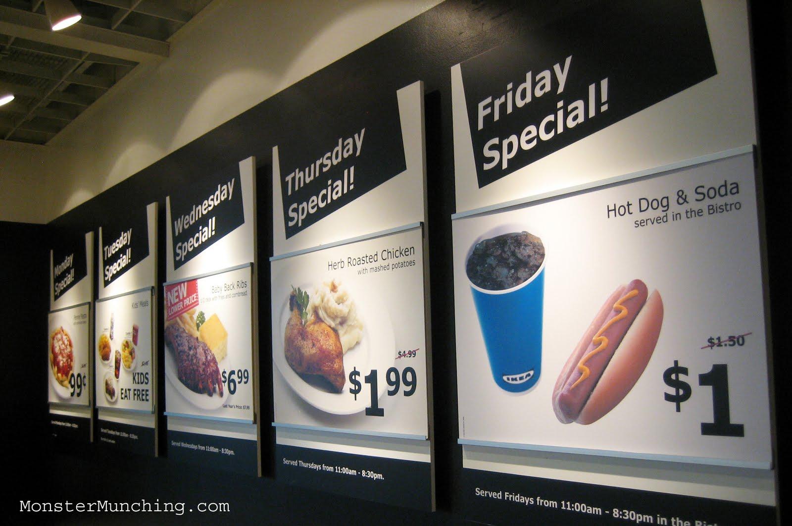 1 99 En Meal At Ikea Costa Mesa