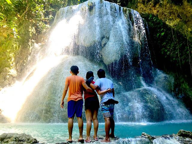 Aguinid Falls - Samboan Cebu.