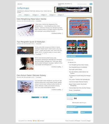 Beli Web Blog Informasi Lengkap
