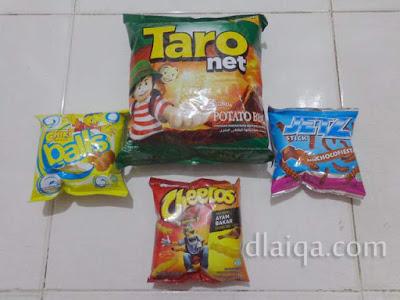 Chiki, Cheetos, JetZ dan Taro