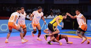 Puneri Paltan Outclass Telugu Titans