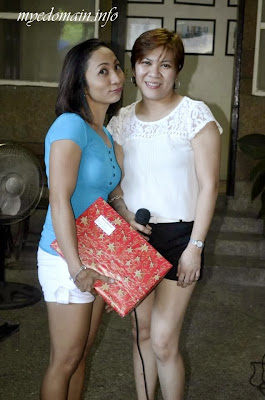 Mye Domain - Exchange Gifts on Christmas Parties- my cousin Ochie and me