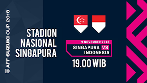Link Live Streaming Singapura vs Indonesia - Piala AFF U-23 2018
