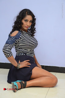 Telugu Actress Meghana Stills HBD (Hacked by Devil) Telugu Movie Audio Launch  0091.JPG