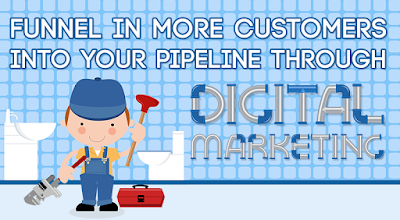 Infographic - Online Marketing for Plumbers