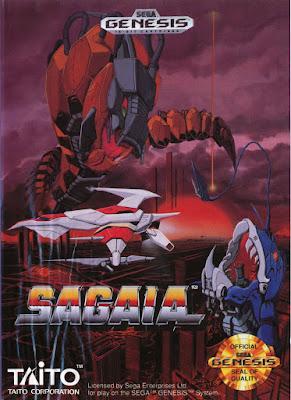 Rom de Sagaia (Darius II) - Mega Drive - PT-BR