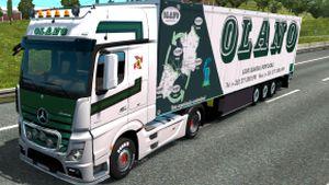 Olano pack for Mercedes MP4