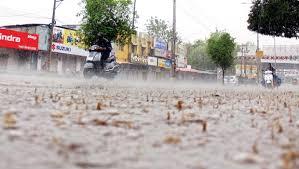حیدرآباد شہر میں آج دوپہر ایک بار پھر شدید بارش