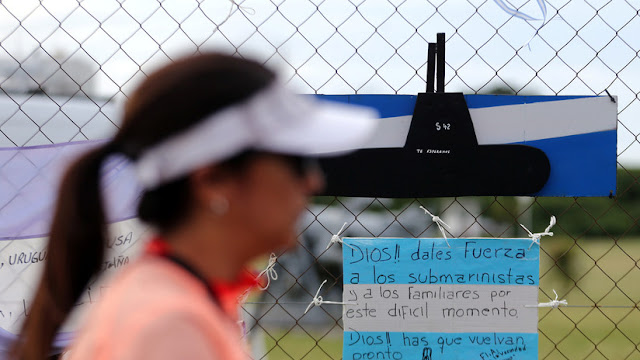 """Jueza sobre el submarino argentino desaparecido: """"Hay información sensible bajo secreto de Estado"""""""