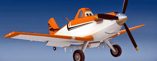 Paper Craft Planes: Dusty from the Disney animated movie