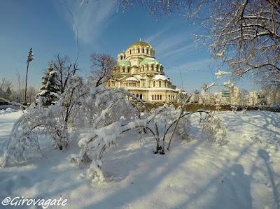 Sofia con la neve