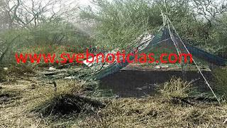 Revientan narco-campamento en Camargo Tamaulipas