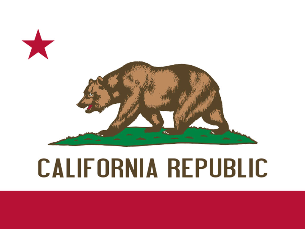 State Flag of California, USA - American Images