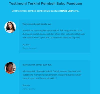 Rahsia Jana Pendapatan RM1000 Seminggu Dengan Uber