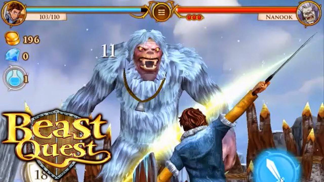 beast quest an epic adventure game from miniclip sa