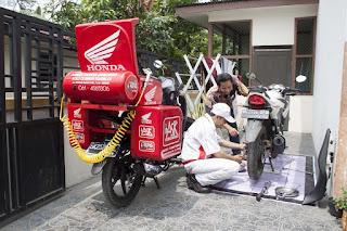 bengkel resmi motor honda kota denpasar