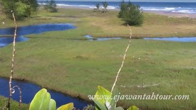 Obyek wisata Pantai Bopong di Kebumen Jawa Tengah